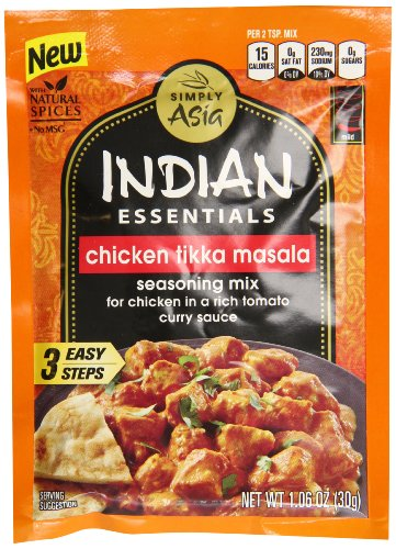 Indian Essentials Seasoning Mix, Tikka Masala, 1.6 Ounce (Pack of 12) (Chicken Tikka Spice compare prices)