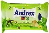Andrex Moist Toilet Tissue Kids Refill 42 Sheets - Pack of 12