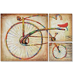 Yosemite home decor fce df1089 bicycle fun ii hand painted for 70 bike decoration