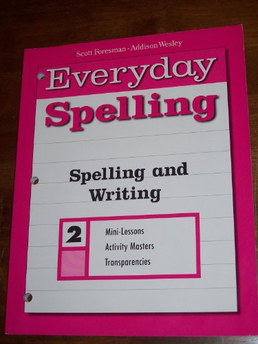 Everyday Spelling and Writing 2 Writing Prompt Transparencies book Scott Foresman - Addison Wesley