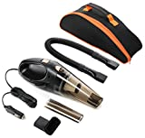 car vacuum cleanerhikeren dc 12 volt 106w wetdry handheld auto vacuum cleaner14ft43mpower cord with one carry bag
