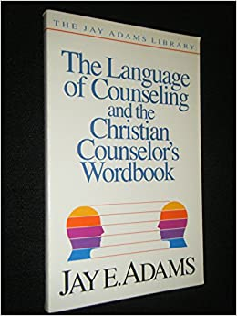 adam counseling essay jay library Biblical counseling manual adam pulaski  counsel by jay e adams,  biblical counseling foundation located then in arlington,.