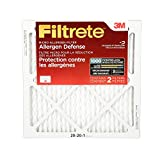 Filtrete Micro Allergen Defense Filter, MPR 1000, 20 x 20 x 1-Inches, 2-Pack