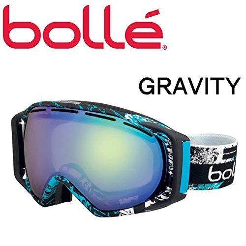 BOLLE(ボレー) スノーゴーグル グラヴィティー/Matte Black & Blue Zenith オーロラ A01171 (15-16 15/16 2016) ボレー ゴーグル