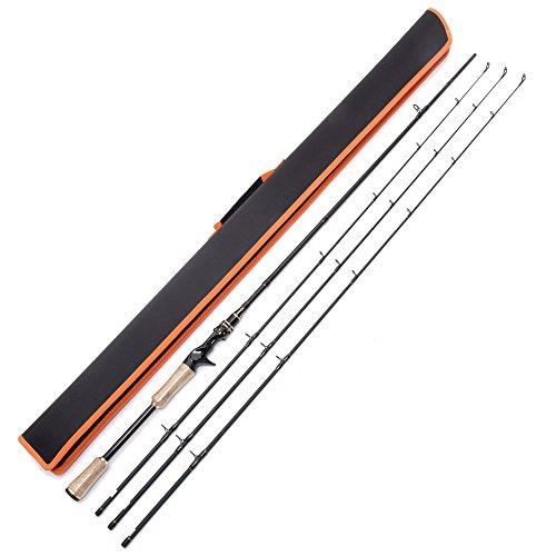 entsport-2-piece-casting-rod-avec-3-top-pieces-graphite-baitcasting-canne-a-peche-portable-baitcast-