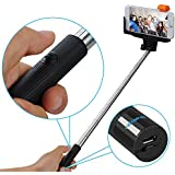 [New Release]VicTsing® Selfie Stick Self-portrait Monopod with built-in Bluetooth Remote Shutter With Adjustable Phone Holder for iPhone 6, iPhone 6 Plus, Samsung, Android Smartphones