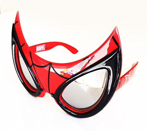 Official Marvel Spiderman Sunglasses Fun Goggles Mask 100% UV400 protection
