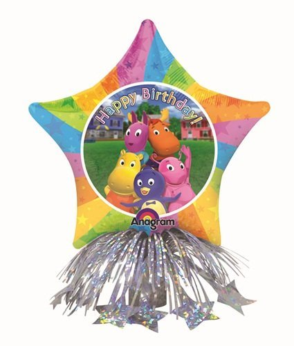 The Backyardigans Star Shape Air-Filled Balloon Centerpiece - 1