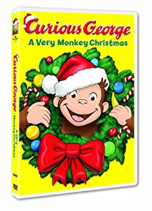 Curious George A Very Monkey Christmas by Universal Studios