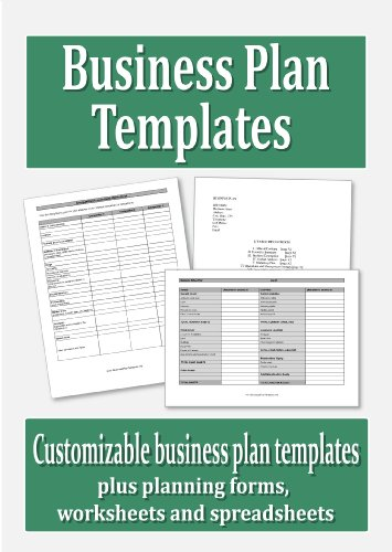 Business Plan Templates Cd-Rom
