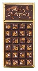 """Weibler Geschenkpackung """"Adventskalender"""" Vollmilch 30g, 24er Pack (24 x 30g)"""