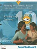img - for Reading for Meaning (Parenting for Academic Success: A Curriculum for Families Learning English: Parent Workbook) book / textbook / text book