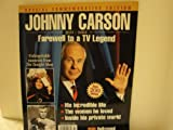 img - for Johnny Carson (Farewell to a TV Legend ..Special Commemorative Edition, IX) book / textbook / text book
