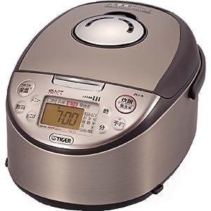 【クリックで詳細表示】TIGER IH炊飯ジャー<炊きたて>(5.5合炊き)ブラウン JKJ-G100-T