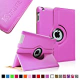 Fintie Apple iPad 2/3/4 Case - 360 Degree Rotating Stand Smart Case Cover for iPad with Retina Display (iPad 4th Generation), the new iPad 3 & iPad 2 (Automatic Wake/Sleep Feature) - Violet