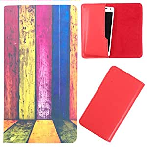 DooDa - For Lava Iris 400 Colour PU Leather Designer Fashionable Fancy Case Cover Pouch With Smooth Inner Velvet