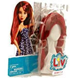 LIV: Doll Wig Accessory - Red Hairstyle
