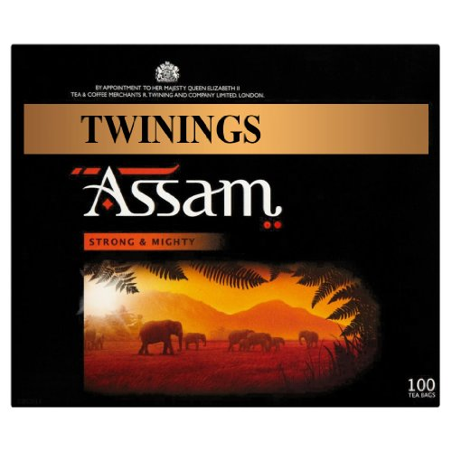 Twinings Assam Strong & Mighty 100 Tea Bags