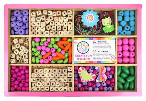 Bead Bazaar Bead Box Kits and Alpha Bead Kit - My Big Alphabet