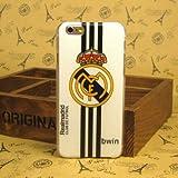 iPhone6(4.7)専用ケース】スペイン 強豪クラブレアル マドリード Real Madrid iPhone6 専用ハードケース/ サッカー フットボール SocceFootball