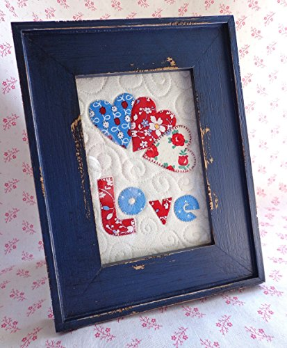 Framed Mini-Quilt, Love (Mackenzie Quilt compare prices)