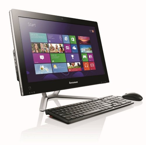 Lenovo C340 20-inch All-in-One Desktop PC - (Black) (Intel Pentium G2020 3.0GHz Processor, 4GB RAM, 1TB HDD, DVDRW, LAN, WLAN, Webcam, Integrated Graphics, Windows 8)