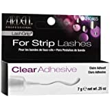 Ardell Lashgrip Strip Adhesive, Clear, 0.25 Ounce