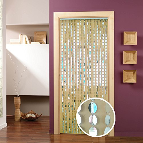 Santa Barbara Cortinilla per porta, 90 x 200 x 1, motivo: