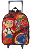Disney Little Boys' Jake 12 Inch Rolling Backpack
