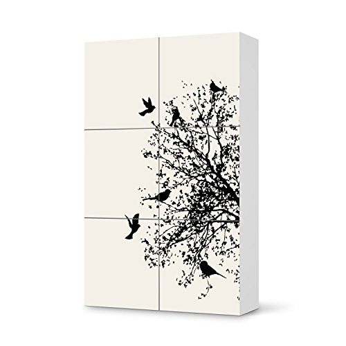 klebesticker tapete folie f r ikea besta schrank hochkant 6 t ren m bel umgestalten. Black Bedroom Furniture Sets. Home Design Ideas