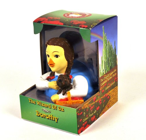 Dorothy From Wizard Of Oz Rubber Duck : Limited Edition Celebriduck