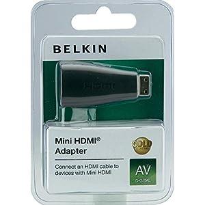Belkin Hdmi/hdmi-mini Adapter Schwarz Goldkontakt from Belkin Components