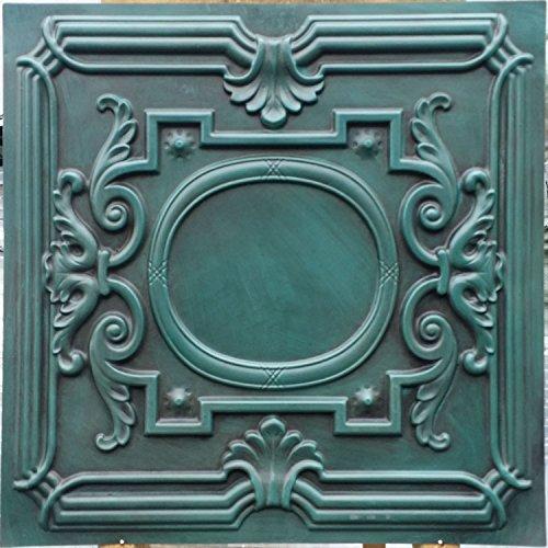 PL15 imitation peinture ancienne old dalles de plafond en relief Décoration Café pub shop 10pieces/Panneaux muraux lot