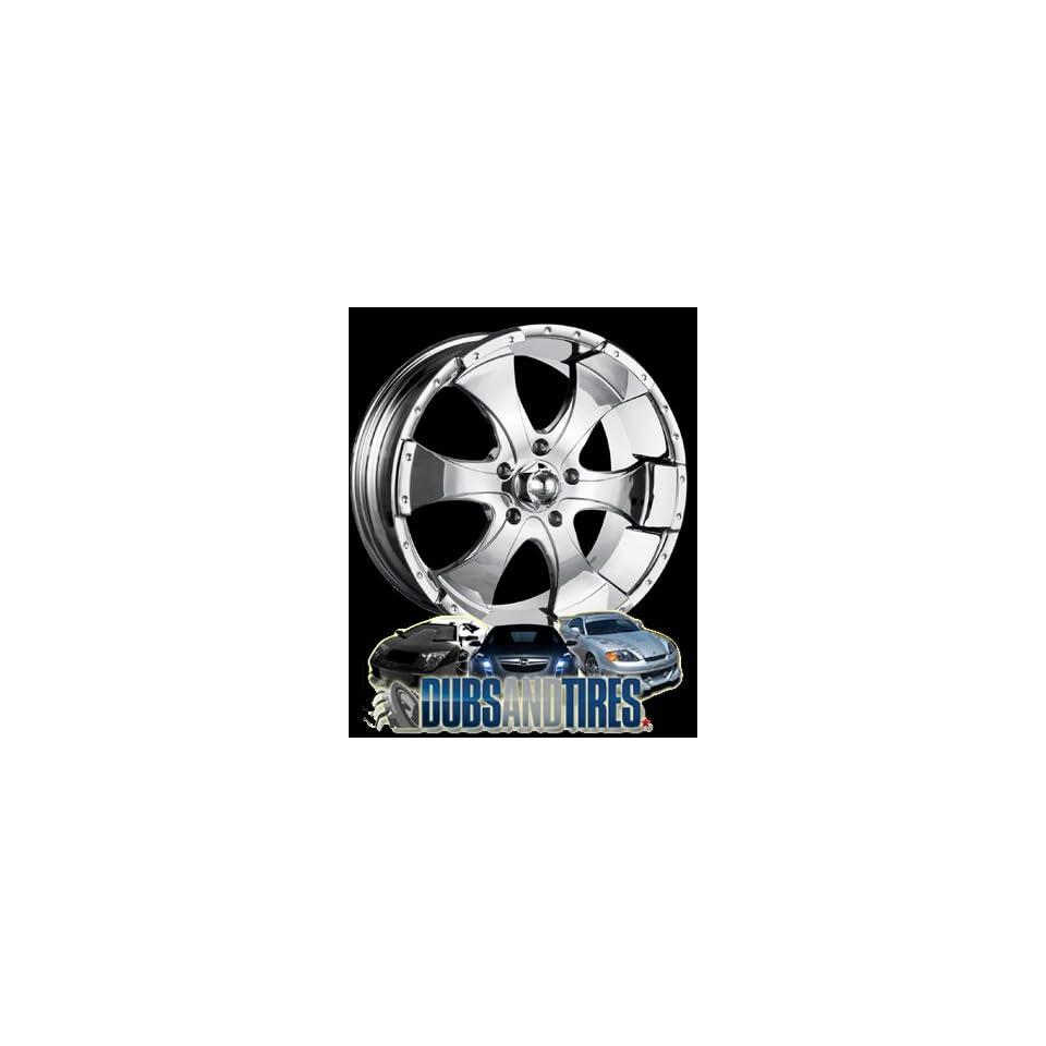 17 Inch 17x8 Ion Alloy wheels STYLE 136 Chrome wheels rims