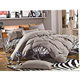 WRAP 100% PREMIUM QUALITY REVERSIBLE DOUBLE BED 4PC COMFORTER SET SMC-12
