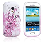 Einzige Colorful Soft Gel Flexible TPU Silicone Skin Case Cover for Samsung Galaxy S3 S III Mini I8190 (Wintersweet) with Free Universal Screen-Stylus - Don't fit for Samsung Galaxy I9300 III S3.