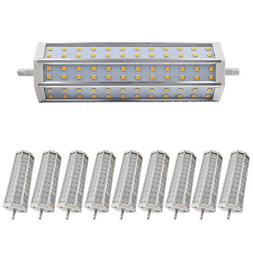 Cheap And Fine 10 Pcs Led R7S Bulb 12W Smd 2835 Warm White Led Light Shop Garden Exhibition Light Ac 85-265 V
