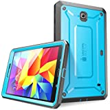 SUPCASE Samsung Galaxy Tab 4 8.0 Case - Unicorn Beetle PRO Series Full-body Hybrid Protective Case with Screen Protector (Blue/Black), Dual Layer Design/Impact Resistant Bumper