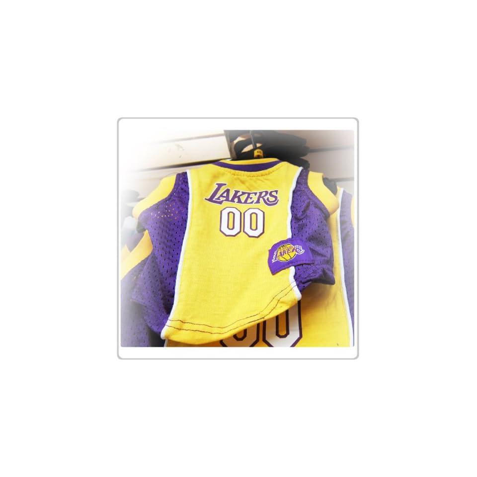 Pet Dog Clothing Cute Laker Fan Sports Shirt Small Size