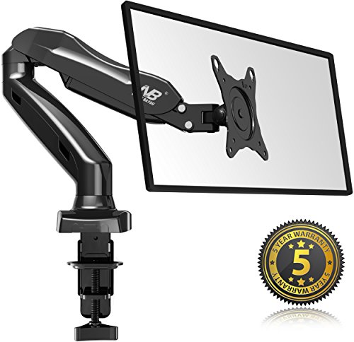 north-bayou-full-motion-desk-mount-with-mount-and-gas-spring-for-computer-monitors-17-27-led-lcd-fla