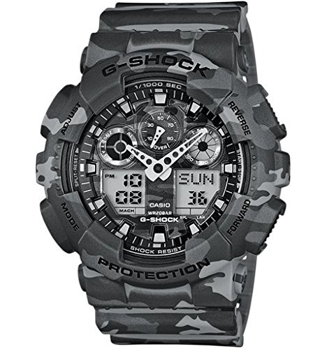 Casio G-Shock Wristwatch Unisex Electronic,Quartz (battery) Grey - watches (Wristwatch, Unisex, Resin, Grey, Grey, Mineral)