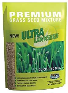 Amturf 77001 Quick Seed Lawn Seed 3-Pound Bag (Discontinued by Manufacturer)