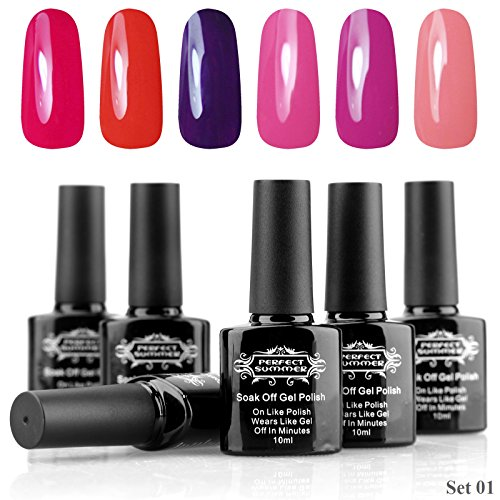 Perfect-Summer-Gel-Nail-Polish-10ml-Mix-Colors-LED-UV-Light-Soak-Off-French-Manicure-Nail-Lacquers-Perfect-Match-Beauty-Products-6PCS-Set