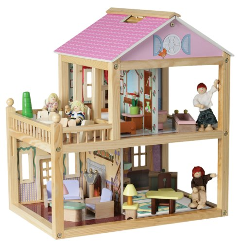 KidKraft Veranda Swivel Dollhouse