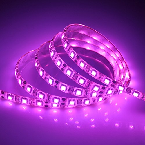 LED Strip Light, Song-Wing Flexible SMD 5050 Pink Color Waterproof DC 12V 300leds 5M 16.4ft Rope Tape Led Lights Strip (Pink Led Light Car compare prices)