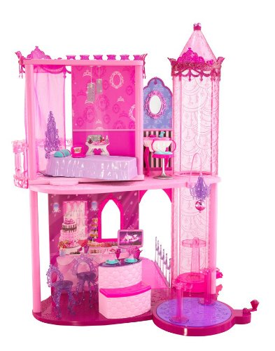 A Fashion Fairytale Palace Barbie Dollhouse