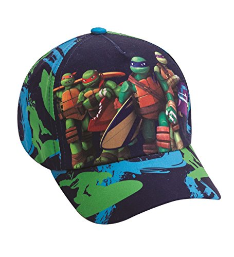 Official Licensed Teenage Mutant Ninja Turtles Dark Blue Hat - Licensed Viacom Ninja Turtles Hat