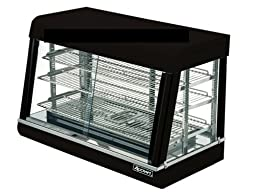 Adcraft Countertop Stainless Steel Heated Display, 24 x 35 1/2 x 20 3/8 inch -- 1 each.