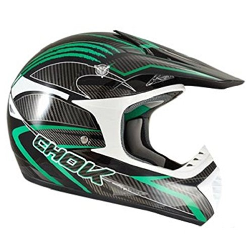 Casque moto cross CHOK NEW ENERGY 2015 - Noir / Vert