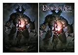 Set of 2 Dragon Age Origins Posters
